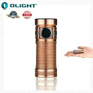Olight S Mini Baton Raw Copper