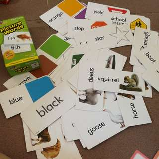 Flashcards 96 picture words