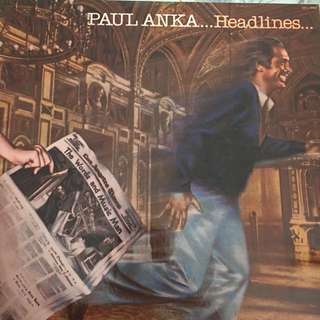 Paul Anka vinyl record