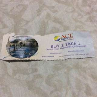 RUSH!! Ace Water Spa Coupon
