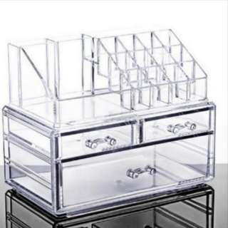Clear Acrylic Make Up Organiser