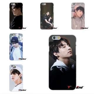 Bangtan Boys BTS Silicon Phone Case cover IPhone or Samsung