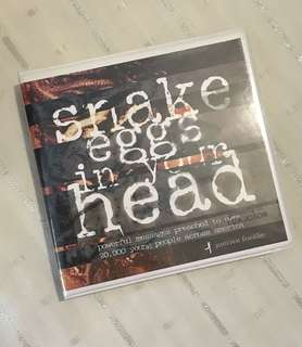 Charity Sale! Snake Eggs in Your Head by Jentezen Franklin Digital Audio CD