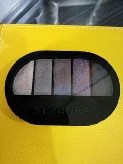 Preloved Sephora colorful 5 eyeshadow palette