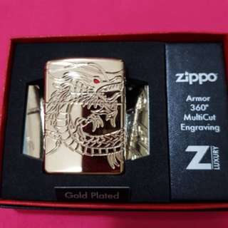Zippo Gold Plated