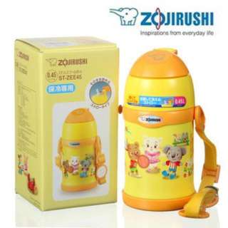 Zojirushi Stainless Steel Cute Bottle ST-ZEE45