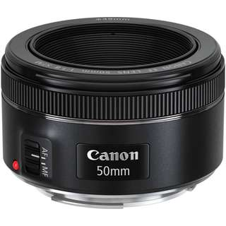 Canon EF 50MM F/1.8 STM (Canon Malaysia Warranty)  + 49MM UV Filter + Cap Bucket
