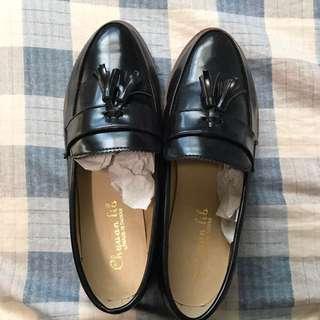 文青流蘇福樂鞋