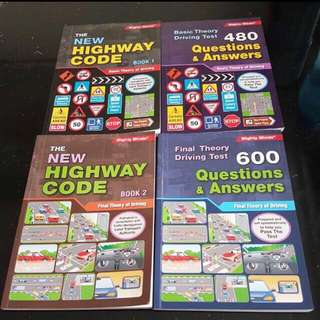 Driving Theory & Q&A Books