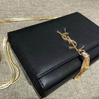 YSL Sling Bag with Gold Hardware