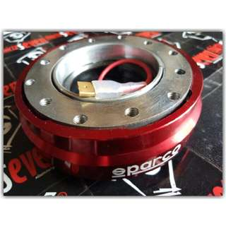 Sparco Slim Quick Release Steer