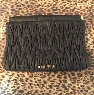 Miu miu clutch bag 手提包