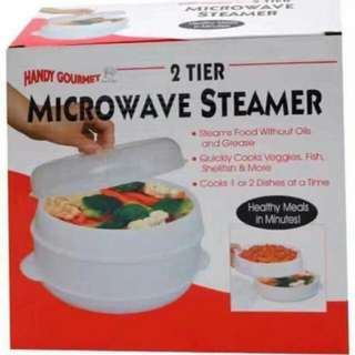 Microwave steamer P350 2tier