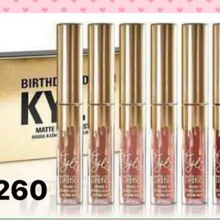 Birthday gift kylie set