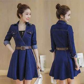 New arrival Denim dress P450
