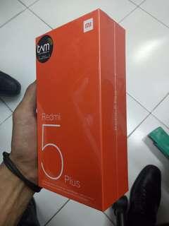 Xiaomi Redmi 5 Plus 3/32Gb Gold TAM Resmi Bisa Kredit