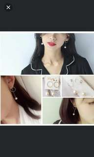 BN Korean style earrings