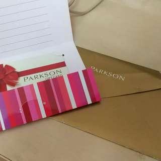 Parkson Gift Card worth RM300