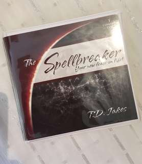 Charity Sale! The Spellbreaker Your New Lease on Life by T.D. Jakes Audio Digital CD