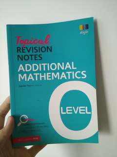 O Level Topical Revision Notes math