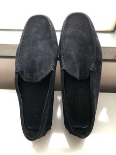 TOD'S suede navy classic , Size 6.5