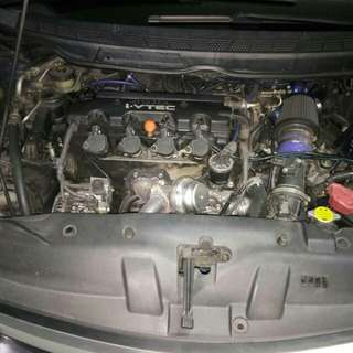 Civic fd 1.8 auto turbokit