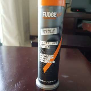 Fudge hair wax