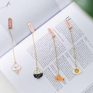 Enjoy Everyday Food Hanging Bookmark