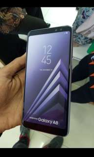 Samsung a8+ 2018 Smartphone Resmi Kredit Mudah