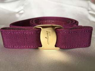 Authentic Salvatore Ferragamo Belt