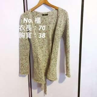 🚚 P's company  百搭氣質 紫色毛衣外套 百貨專櫃🔍服飾