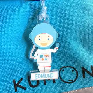 Custom Personalised Bag Tag - Astronaut