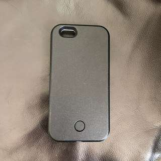 selfie light iphone case 6/6s