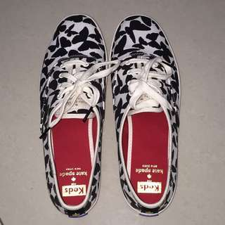 Brand New 100% Authentic/Original Keds x Kate Spade New York Black Champion Butterfly Size 9