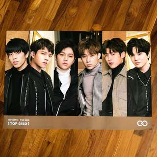 INFINITE TOP SEED ~ OFFICIAL POSTER