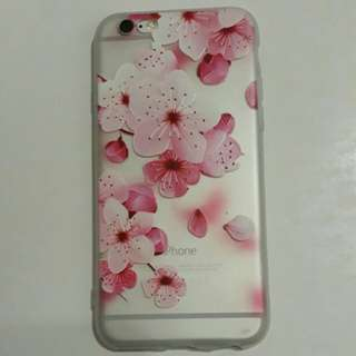 Pink flowers iPhone 6/6s case