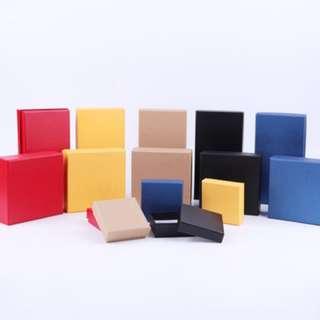 Gift box hardboard plain