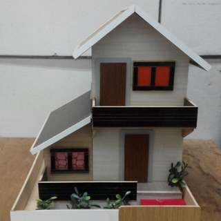 Mini house Alkansya