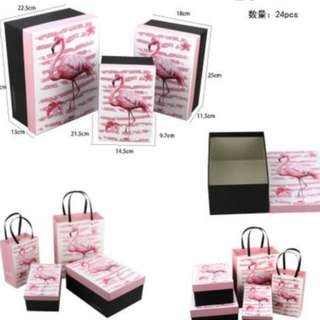 Gift boxes 24 set