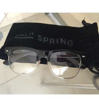 Call it Spring specs with pouch