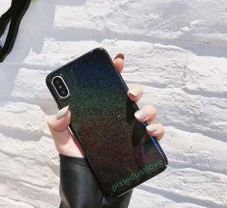 Glitter phone casing