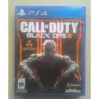 Kaset BD PS4 Original Game Call Of Duty Black Ops 3