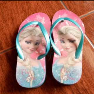 Elsa Slippers (Size 28)