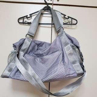 Grey silver gym bag (Cotton On Body)
