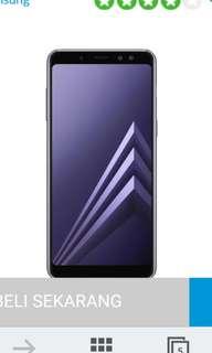 Kredit Samsung A8 2018 Resmi