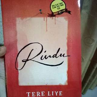 Novel Rindu by Tara Liye