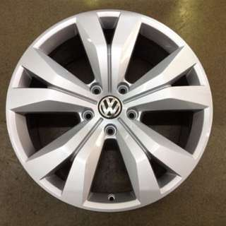 "20"" 5x130 vw touareg original wheel new paint 1 set $1600"
