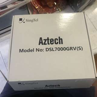 Aztech Wireless-N Gigabit Ethernet Fiber Gateway DSL7000GRV