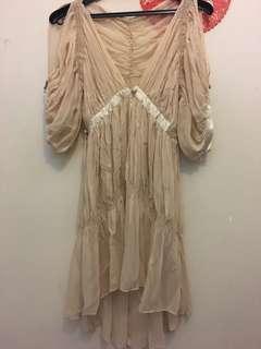 Louis de gama silk cocktail dress