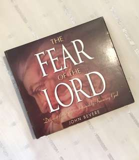 Charity Sale! The Fear of the Lord by John Bevere Audio Digital CD
